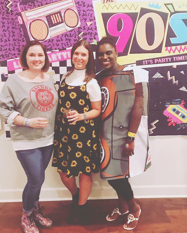 Sunflower prints, cassette tapes and Bayside High are all a part of a great 90's theme. #90stheme #90sparty #neworleans #neworleansevents #neworleansthingstodo